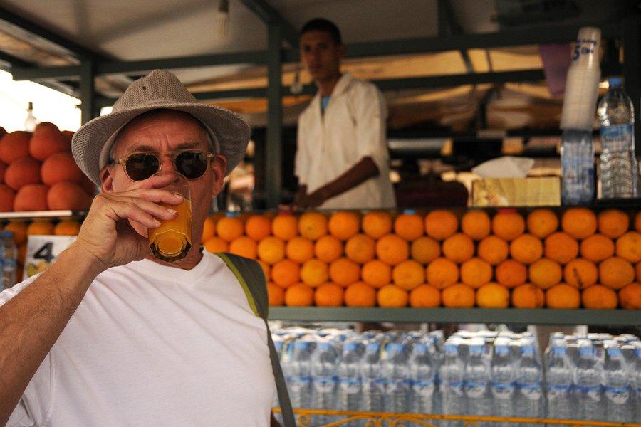 Orange Juice Stand