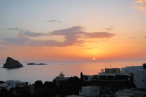 Panarea sunset