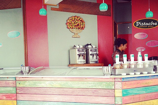 Pistache Ice Cream Shop