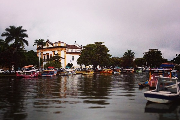 Church on Bay of Paraty