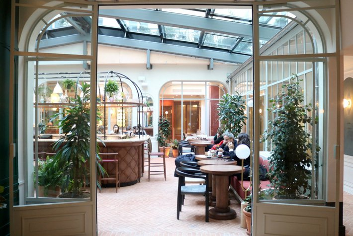 The Trellis Bar at the Hotel Grands Boulevards