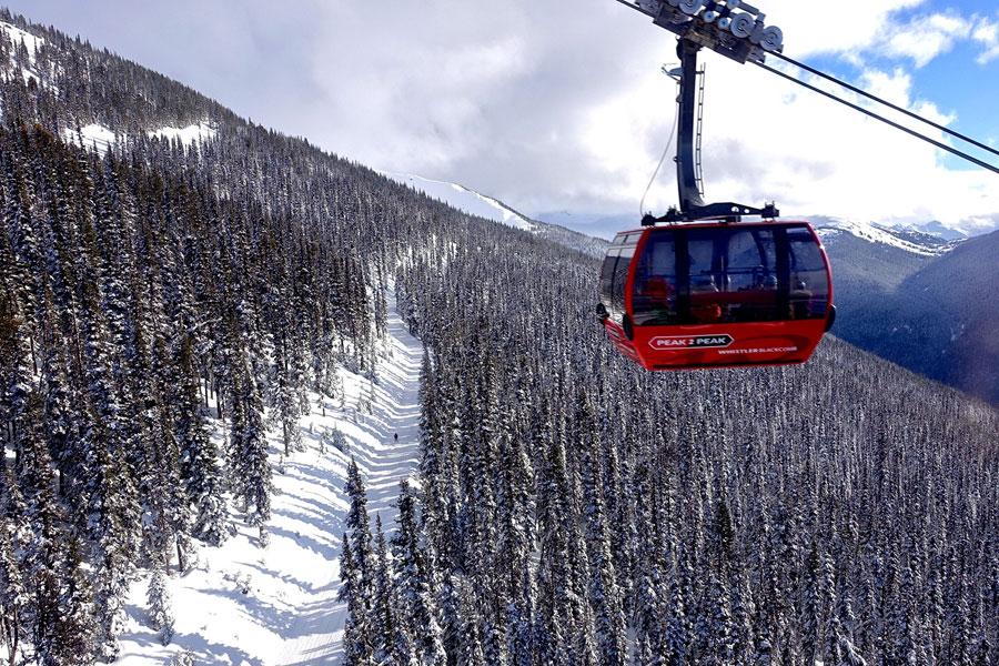 peak2peak gondola Whistler