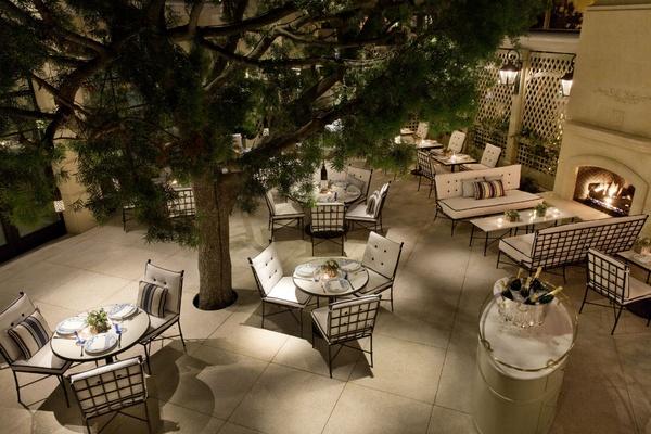 Peninsula Beverly Hills Belvedere terrace