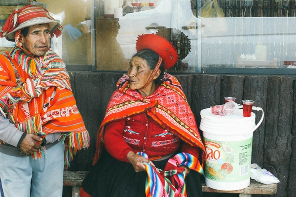 Women in Huacahuasi Valley, Peru
