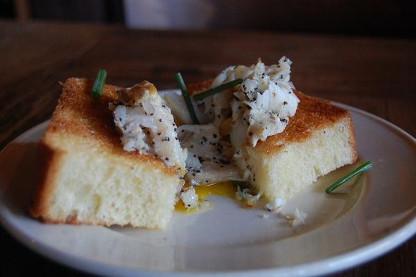 Zahav Sable Challah and Egg