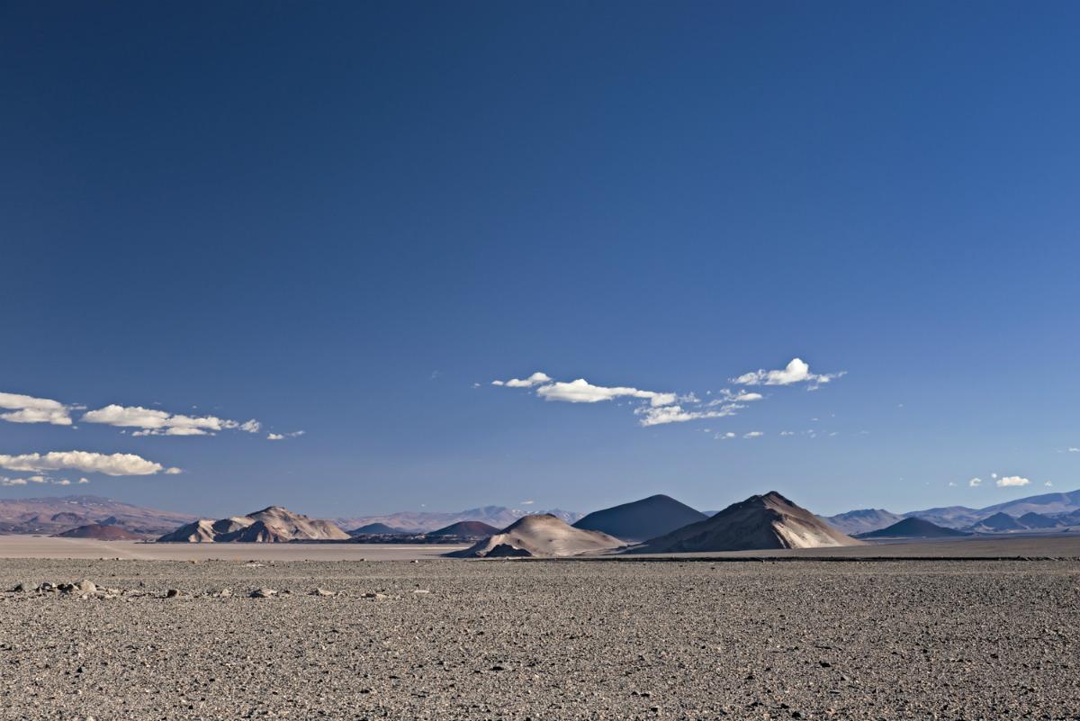 Volcano Field in the Puna