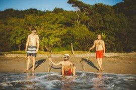 El Camino boys in Popoyo Beach