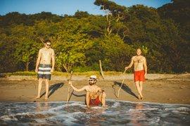El Camino boys in Popoyo Beach