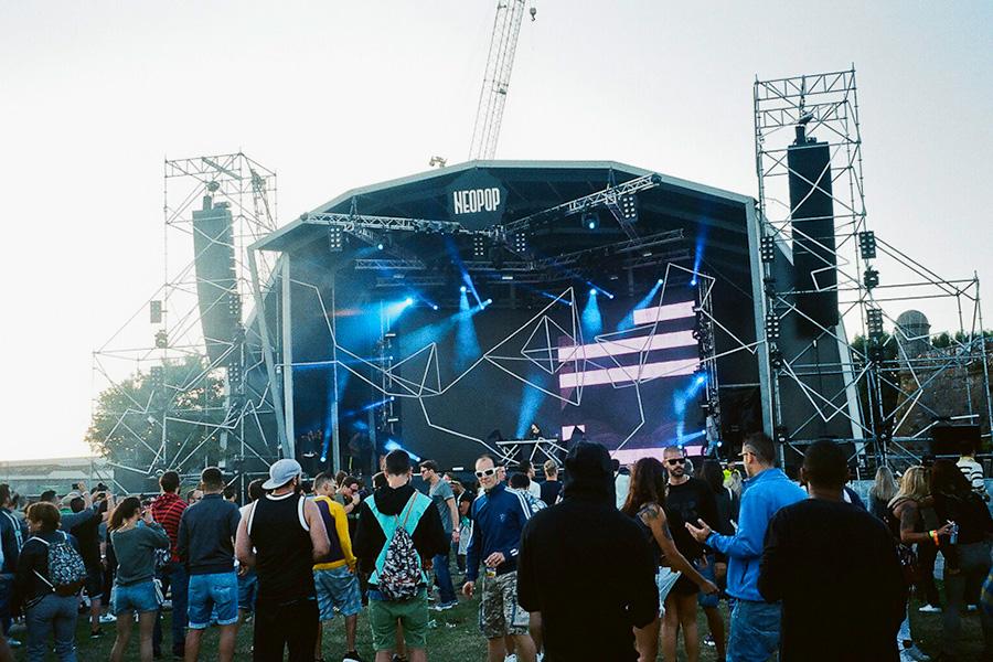 Neopop Festival, Viana do Castelo, Portugal