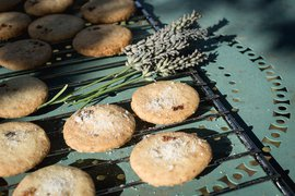 Lemon Lavender Shortbread