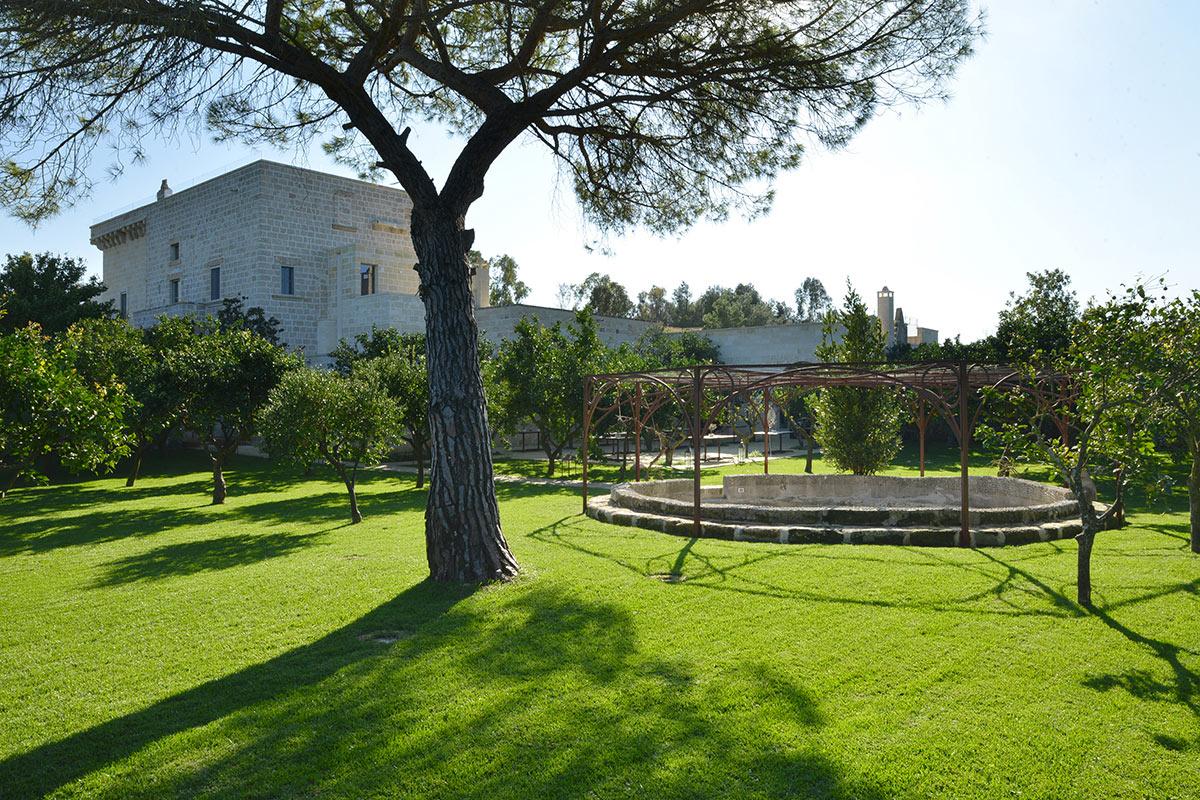 exterior of Masseria Trapana