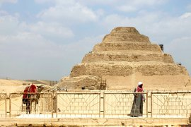 The Pyramid of Djoser, Egypt.