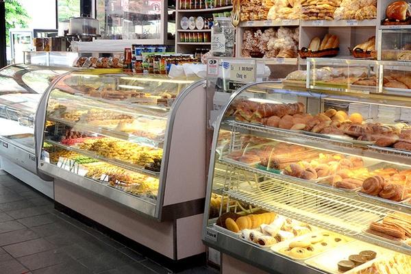 Pastries from La Nueva Bakery, Jackson Heights, Queens, New York