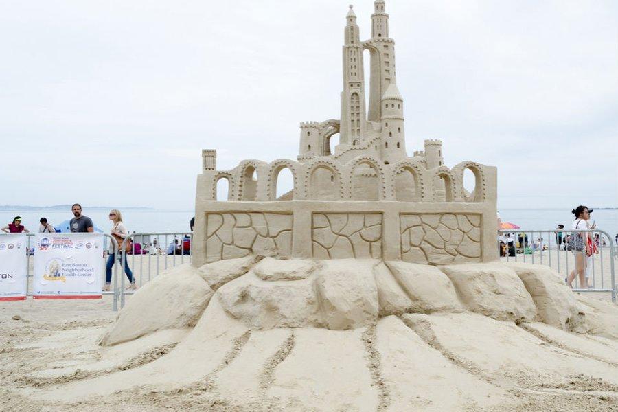 Revere Beach National Sand Sculpting Festival (2014)