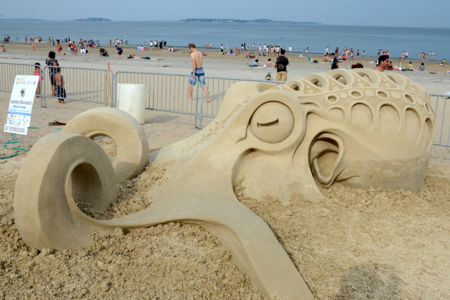 Revere Beach Sand Sculpting Competition