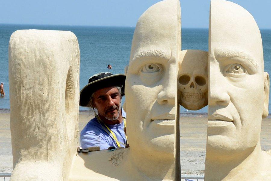 Revere Beach National Sand Sculpting Festival