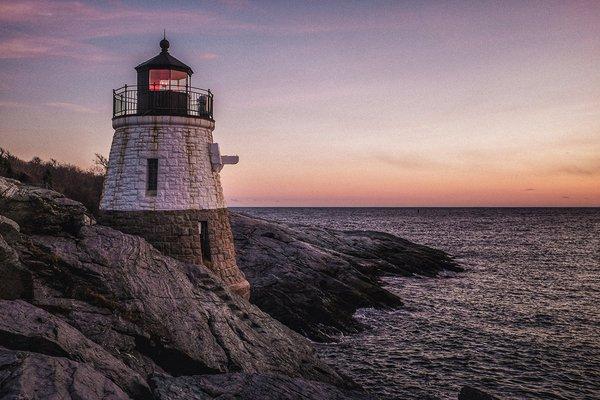 Rhode Island lighthouse.