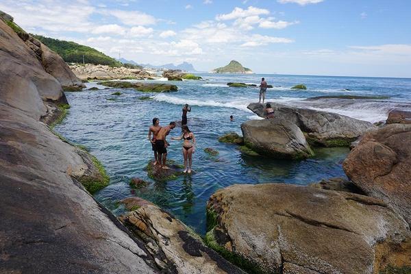 Upclose at Secret Pool, Rio de Janeiro
