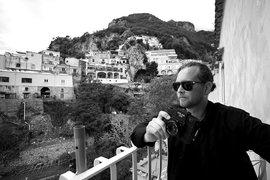 Robert Malmberg in Positano.
