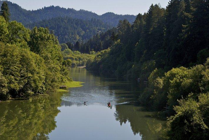 Russian River, Sonoma County.