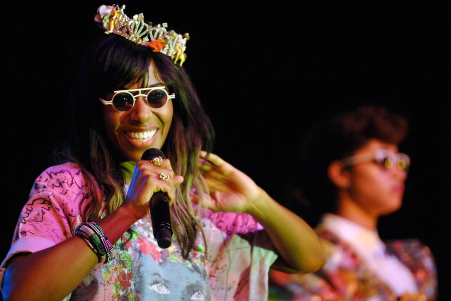 Santigold at La Zona Rosa at SXSW 2012. Photo: Jesse Knish/WireImage / courtesy of SXSW