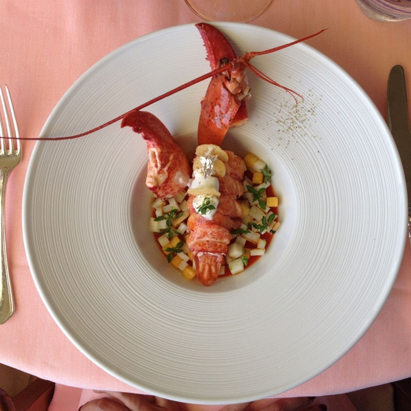 Lobster at Il San Pietro