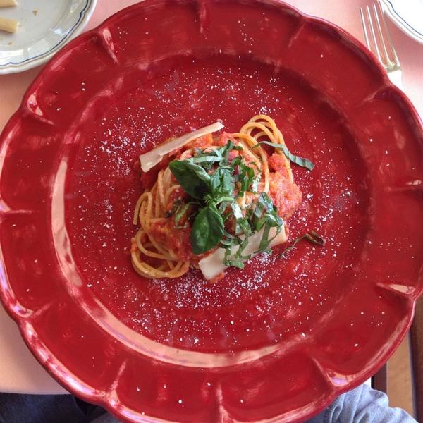 Spaghetti at Il San Pietro