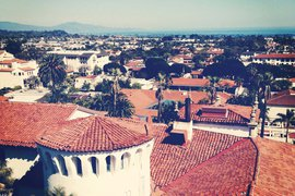 Santa Barbara Clock Tower View