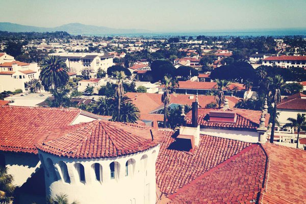 Santa Barbara Clock Tower View