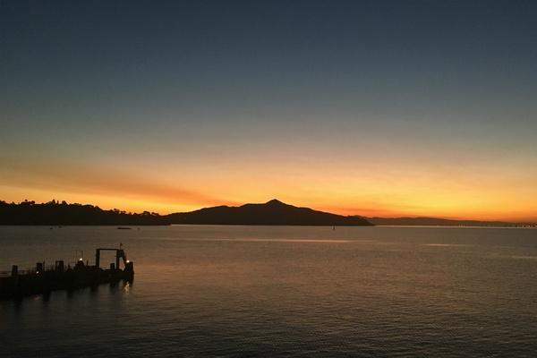 Sausalito sunrise