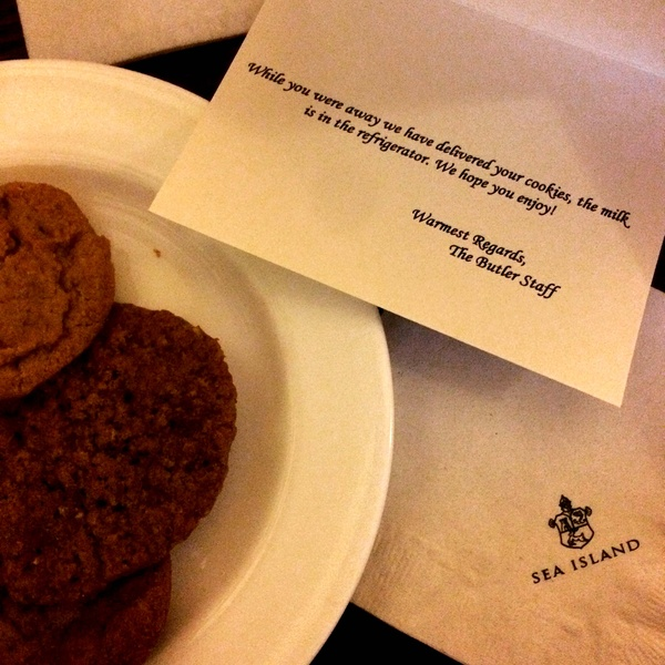 Sea Island Resort cookies