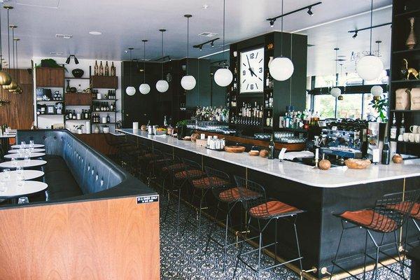 The bar at Tallulah's.