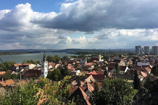 Sava and Danube Rivers, Belgrade, Serbia