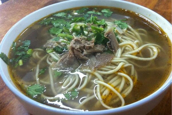 Shanghai Lanzhou Lamian noodles