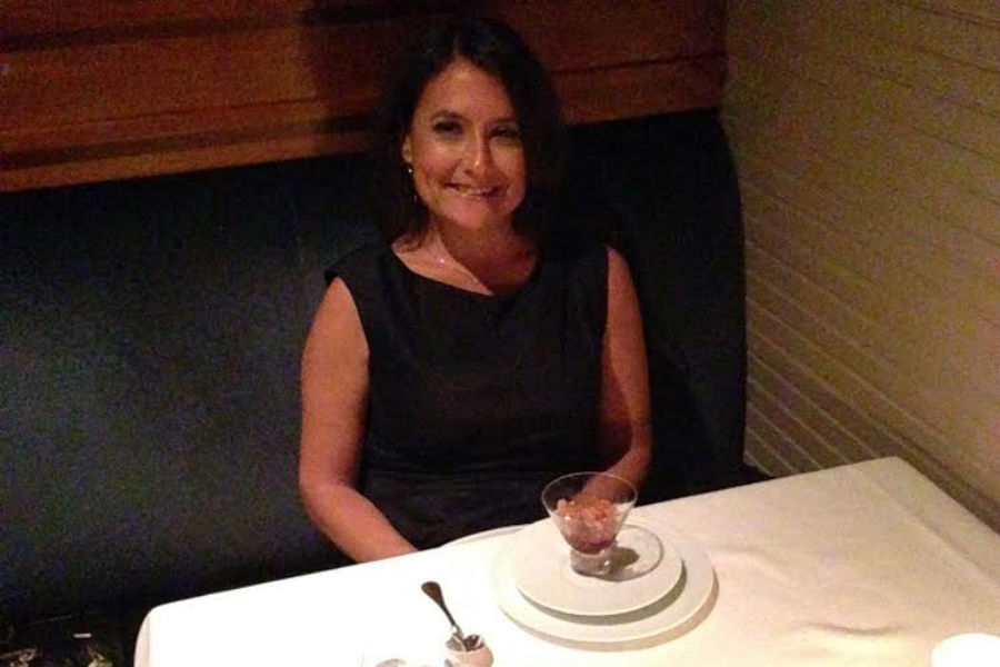 Shari Bayer dining at The French Laundry