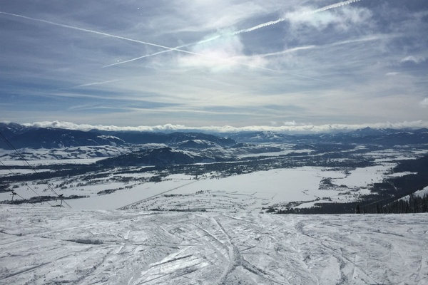 Views from Jackson Hole Mountain Resort.
