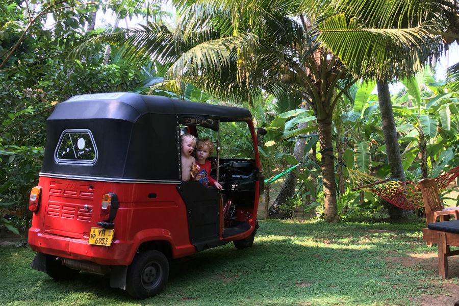 Sri Lanka tuk-tuk