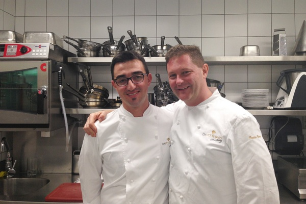 Enrico and staff