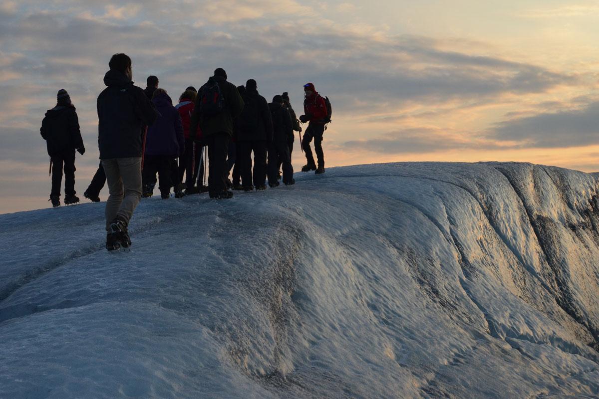 Svinagellsjokull glacier walk