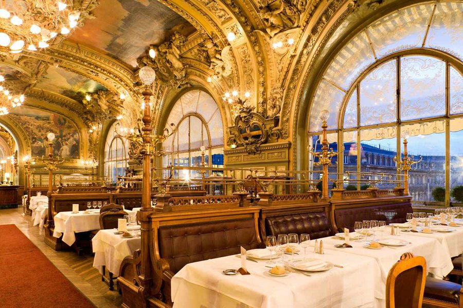 Photo courtesy of Le Train Bleu