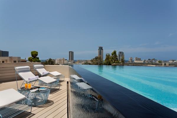 Rooftop Pool, The Poli House, Tel Aviv