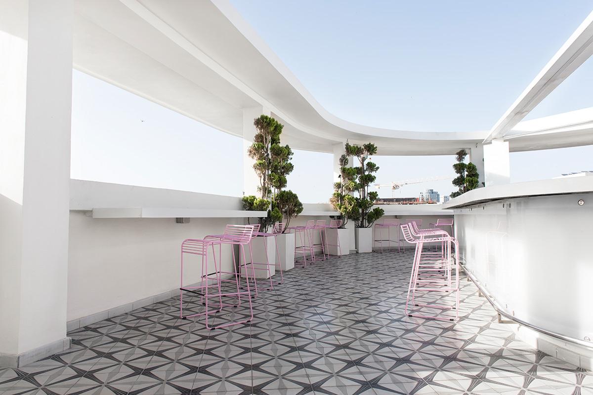 Rooftop Bar, The Poli House, Tel Aviv