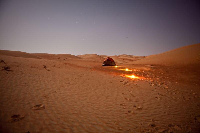 A Grain Of Sand In The Empty Quarter Fathom