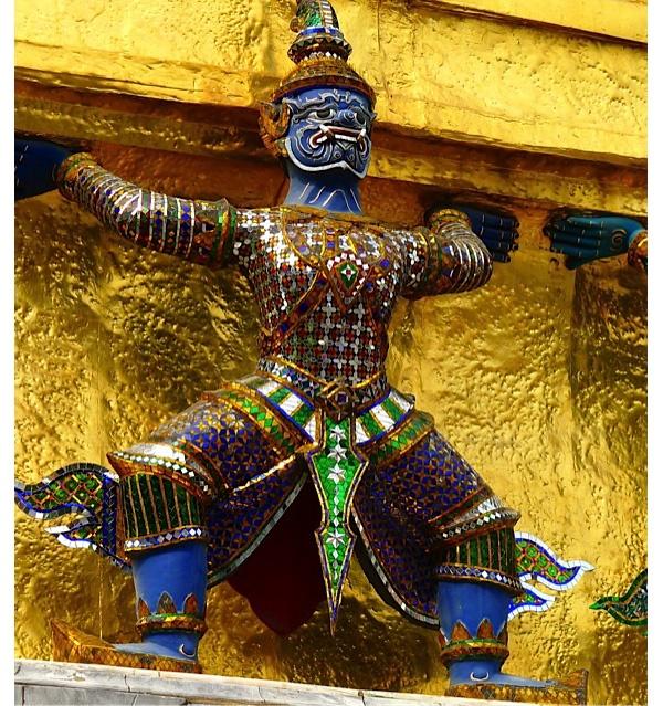 Palace Statue