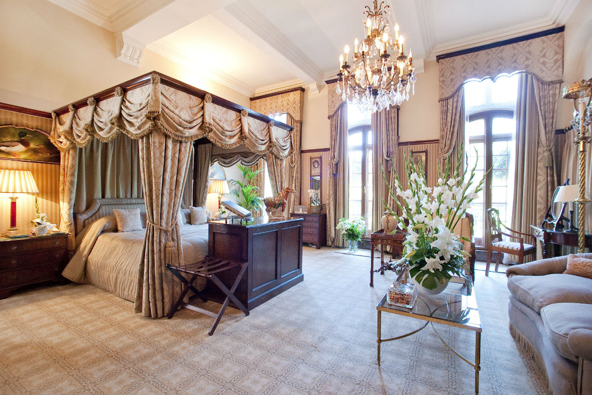 A Grand Master suite at The Milestone.
