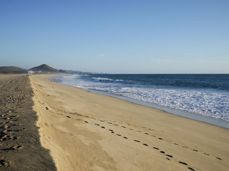 Beach at Rancho Pescadero