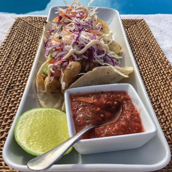 Tacos at Rancho Pescadero