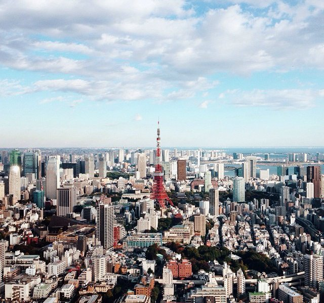 Tokyo Zoomed Out