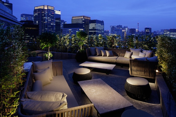 Palace Hotel Club Lounge Terrace