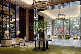 Lobby of Palace Hotel, Tokyo.
